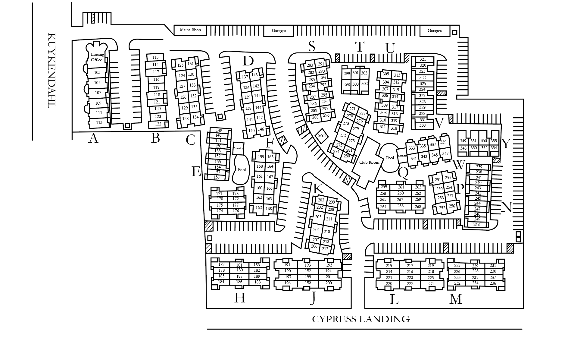 Residential Project Site Map